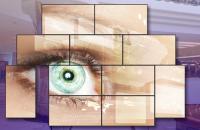 Digitale Bildwand im Aussenbereich bekommt Wartung