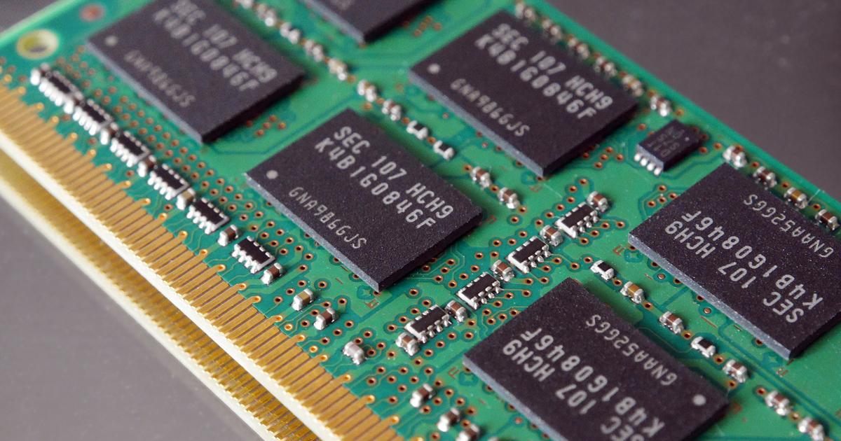 Computer Speicher RAM