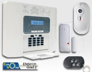 Schutz gegen Einbruch und Diebstahl – Alarm-Kompakt-Anlage