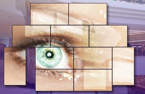 Bildwand Digital Signage